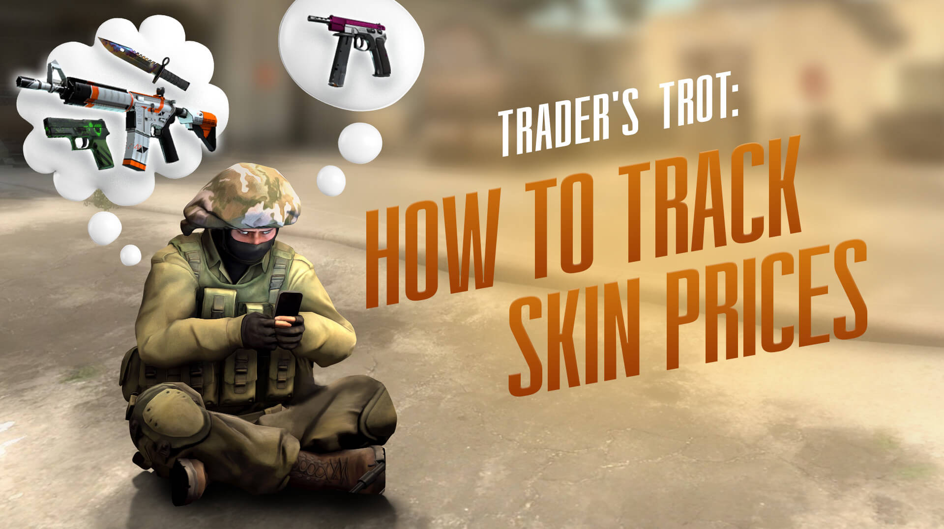 How to track skin prices | Cs money blog