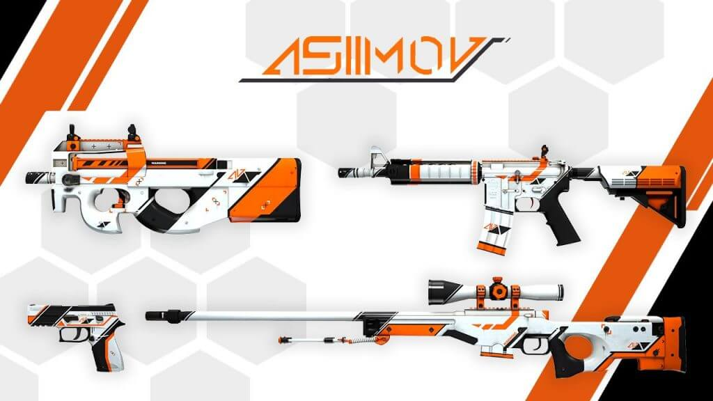 Asiimov - undeniable classic! And we are not talking literature