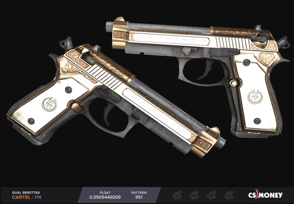 Лучшие скины для Dual Berettas