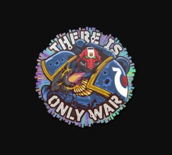 CS:GO Warhammer Stickers