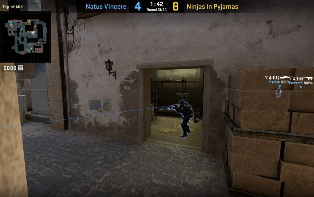 Анализируем игру Natus Vincere на Mirage: 7 отличительных черт