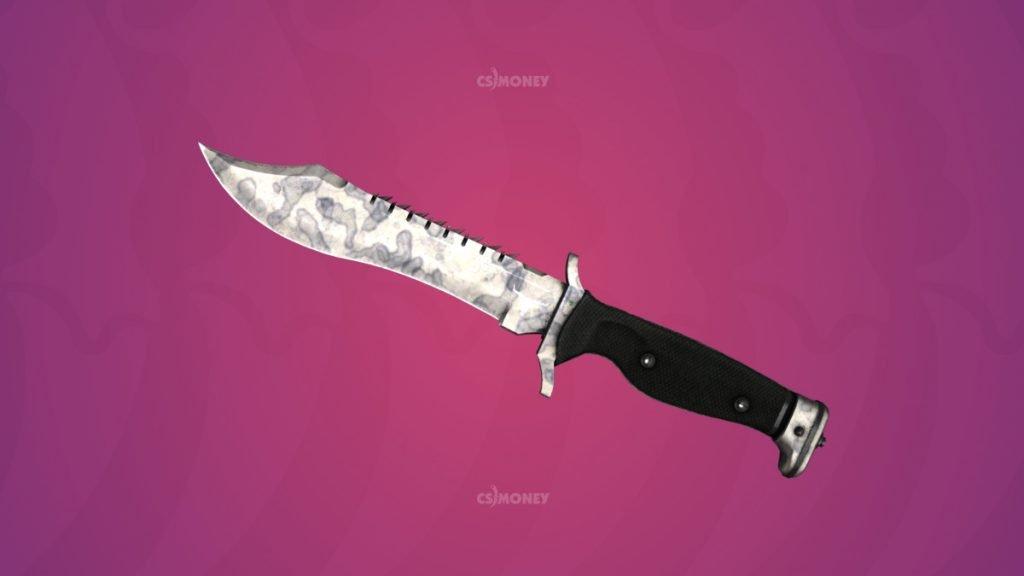нож боуи патина