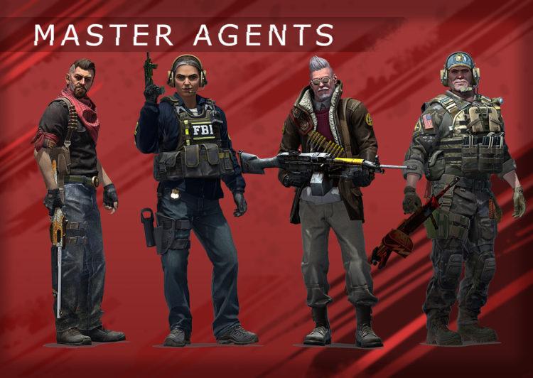 агенты первой операции