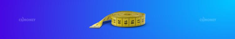 Размеры на рулетке