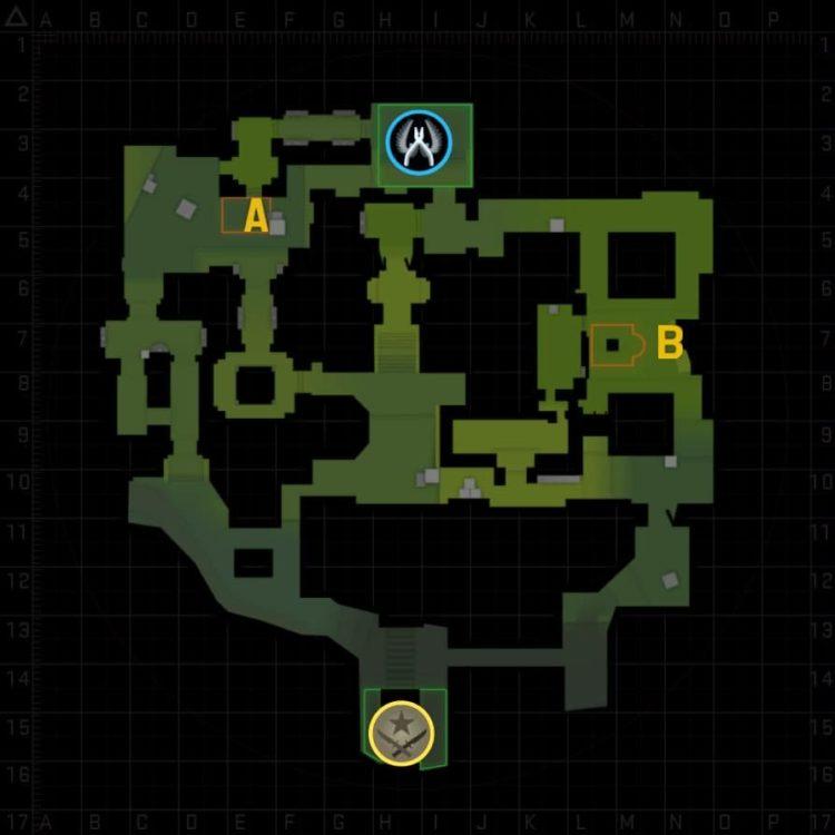 карта ancient cs go