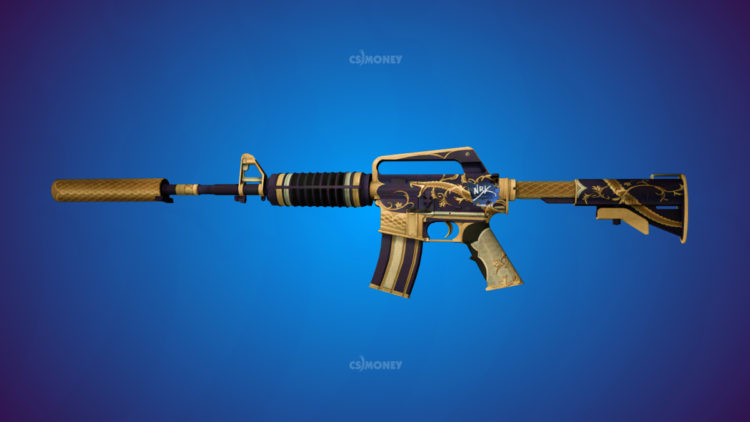 M4A1-S Golden Coil Field-Tested