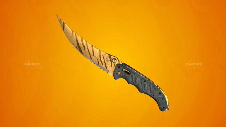 Flip Knife Tiger Tooth